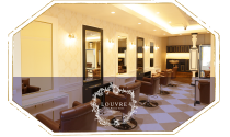 louvre total beauty salon 生駒 tel.0743-74-6200